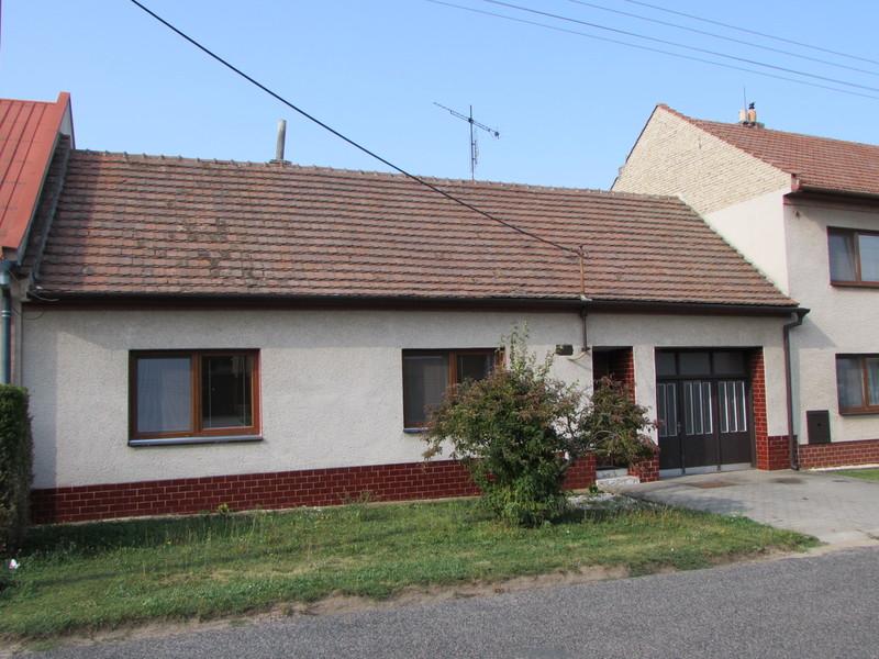 Rodinný dům Vnorovy Lidéřovice